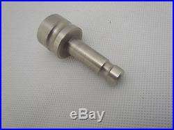 Adapter 5/8 x 11 female thread to Dia. 12 mm pole FOR PRISM GPS TOTAL STATION