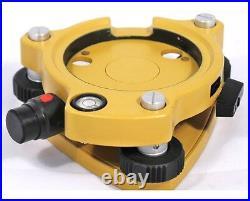 AdirPro Laser Yellow Tribrach for Total Stations, GPS, Topcon, Sokkia, Leica