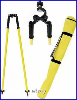 Bipod Thumb Release, For Prism Pole Surveying Total Station Leica Type Tripods