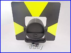 Black Target Single Prism with soft bag for leica total station. Constant 0mm
