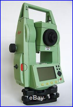 Calibrated LEICA TCR405 5'' reflectorless total station + Accessories