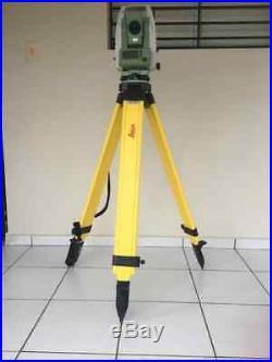 Estación Total Leica flexline TS06 ultra 3 (1mgon) medición sin prisma R1000