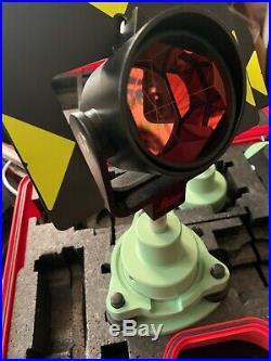 Genuine Leica GPR121 Prism Total Station Targets Trimble Surveying Grading