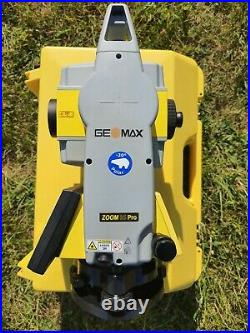 GeoMax Zoom 35 PRO (Leica) 2 CALIBRATED Total Station FREE World Warr 30 days