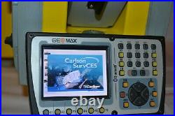 Geomax Zoom90 1 A10 Robotic Total Station Carlson Srrvce Demo Leica