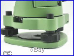 Green Single Prism Tribrach Set System For Leica Total Station Surveying
