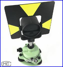 Green Tribrach Single Prism Set System For Leica Total Station Surveying