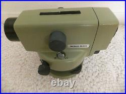 Heerbrugg / Leica Na1 Precis Auto Level Surveying Equipment & Case / Clean