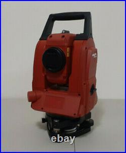 Hilti POS-18 Total Station 1 Sec Reflectorless Mechanical Spectra Trimble