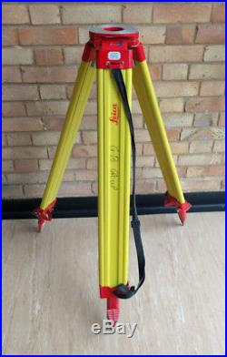Leica Gst120 9 Tripod Wooden Tripod For Total Station Theodolite
