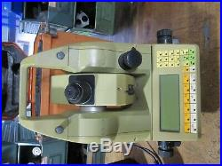 LEICA TC1100 Total Station with charger & carry case (+2 very dead batteries)