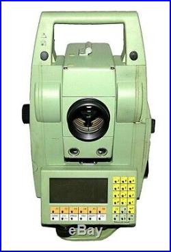 LEICA TCRA 1103 Plus 3 ROBOTIC TOTAL STATION for SURVEYING ART WithO CHARGER