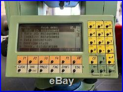 LEICA TCRA1103 Plus 3 ROBOTIC TOTAL STATION