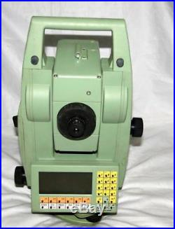 LEICA TCRA1103 Plus 3 ROBOTIC TOTAL STATION FOR SURVEYING ART No. 667304
