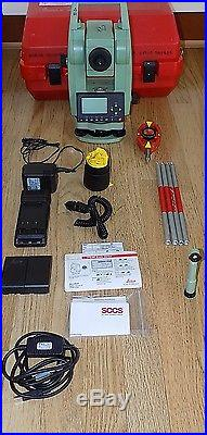 Leica Total Station Tcr307 Reflectorless Calibrated Surveying