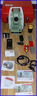 Leica Total Station Ts02 Ultra R1000 7 Calibrated Worldwide Shipping