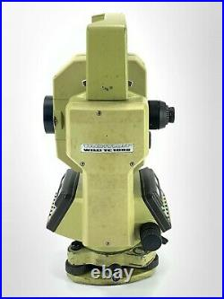 LEICA WILD TC1000 3 TOTAL STATION FOR SURVEYING with CASE NO BATTERY INCLUDED