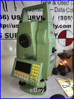Leica 3 TCRA1103+ XR Reflectorless Robotic Total Station Complete System & WNTY