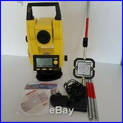 Leica Builder R100m Total Station For Surveying, Calibrated With Warrnty
