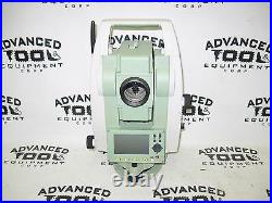 Leica Flexline TS02 Power 3 Dual Display Total Station w Charger Battery & Case