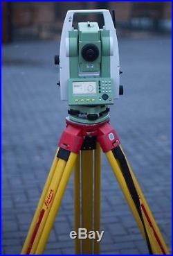 Leica Flexline TS06 Plus 7 R500 Total Station + Tripod Leica