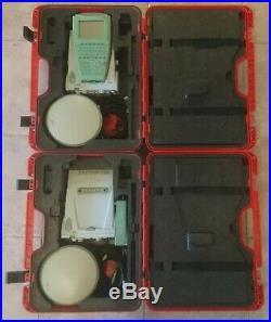 Leica GPS1200 (x2) GX1230 receiver AX1202 antenna RX1210T controller