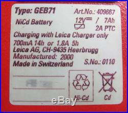 Leica Geb71 External Battery For Total Station Surveying 1 Month Warranty