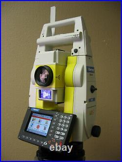 Leica Geomax Zoom80 Carlson Cr2 2 Prismrless Robotic Total Station / Surveyor2