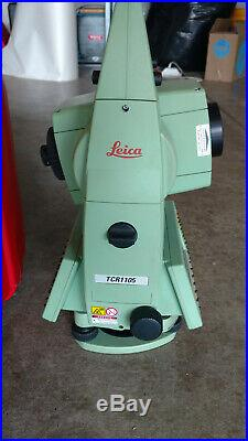 Leica Model Tcr1105 Total Surveying Station
