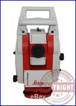 Leica Power Tracker Robotic Prismless Surveying Total Station, Trimble, Topcon