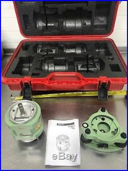 Leica Professional Traverse Kit SNLL121 Laser Total Station Surveying Prism