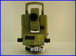 Leica TC1010 3 TOTAL STATION FOR SURVEYING ONE MONTH WARRANTY