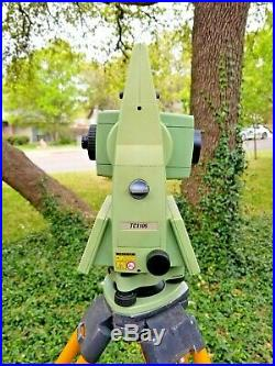 Leica TC1105 5 Conventional Survey Total Station