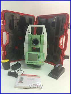 Leica TC1205 Total Station für Vermessung ein Monat Garantie