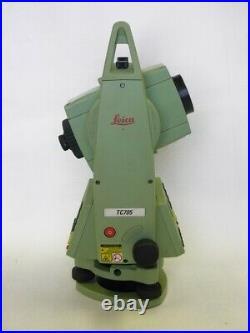 Leica TC705 5 Dual Screen Total Station Transit Level Surveyor Surveying TC 705