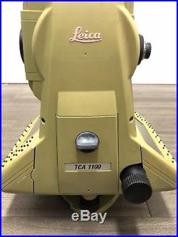 Leica TCA 1100 Total Station Surveying, Construction