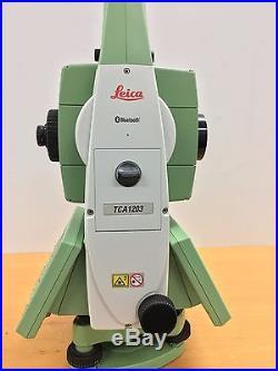 Leica TCA1203 Survey Total Station Excellent Condition