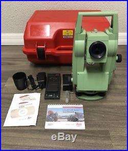 Leica TCR 407Power R100 Total Station For Surveying