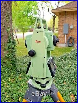 Leica TCR302 2 Reflectorless Conventional Survey Total Station
