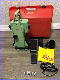 Leica TCR303 Total Station For Surveying