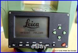 Leica TCR307 7 Reflectorless Total Station Survey Construction