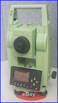 Leica TCR307 7 Reflectorless Total Station, Survey Construction Surveying