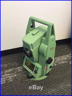 Leica Tcr405power Total Station R400 Reflectorless 5 Total