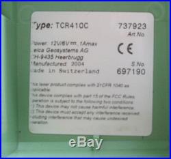 Leica TCR410C 10 Total Station nur, für Vermessung, 1 Monat Garantie