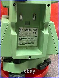 Leica TCR705 Auto Reflectorless Ext. Range 5 Total Station Survey Battery Case