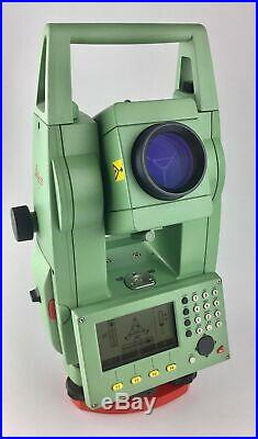 Leica TCR802power R100 Reflectorless Total Station, We Export