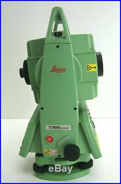 Leica TCR805 Power R100 Prismenlosen Total Station für Vermessung ein Monat