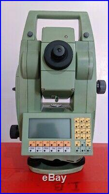 Leica TCRA 1103 PLUS 3 ROBOTIC TOTAL STATION with Case