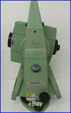 Leica TCRA1101 Plus Surveying Total Station with Case