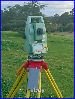 Leica TCRA1101+ Robotic Total Station and RCS1100 One-Man System